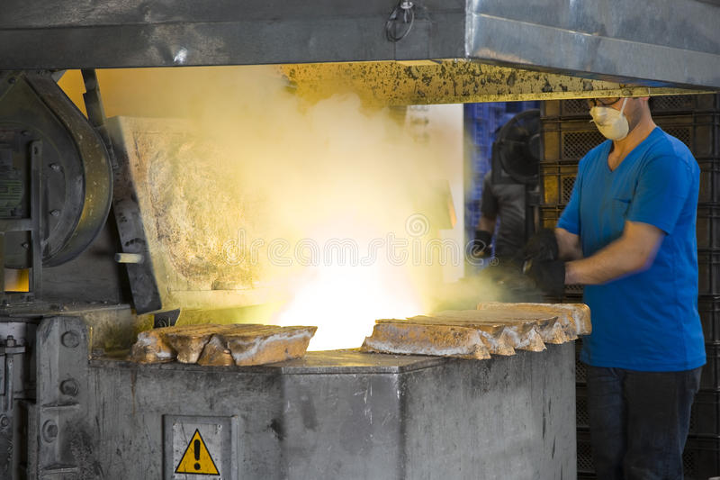 Download Heavy industry stock photo. Image of iron, melting, work - 10429590