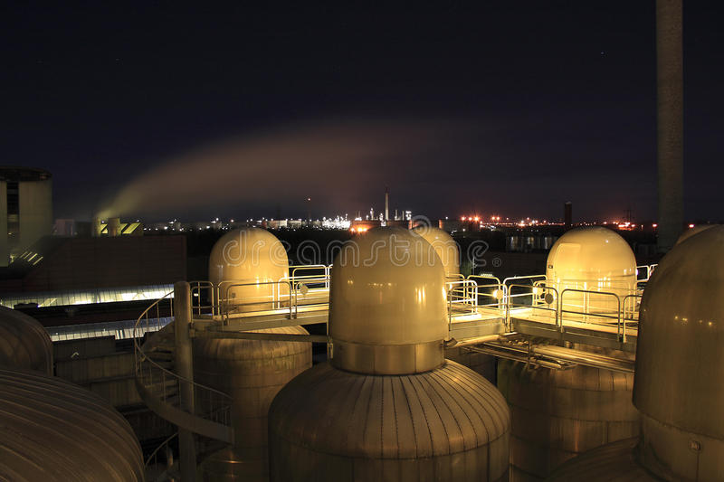 Download Heavy industry stock image. Image of night, warming, outdoor - 17769959