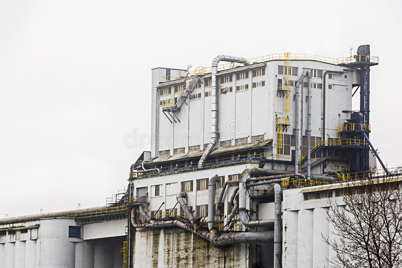 Heavy Industry Building royalty free stock photos