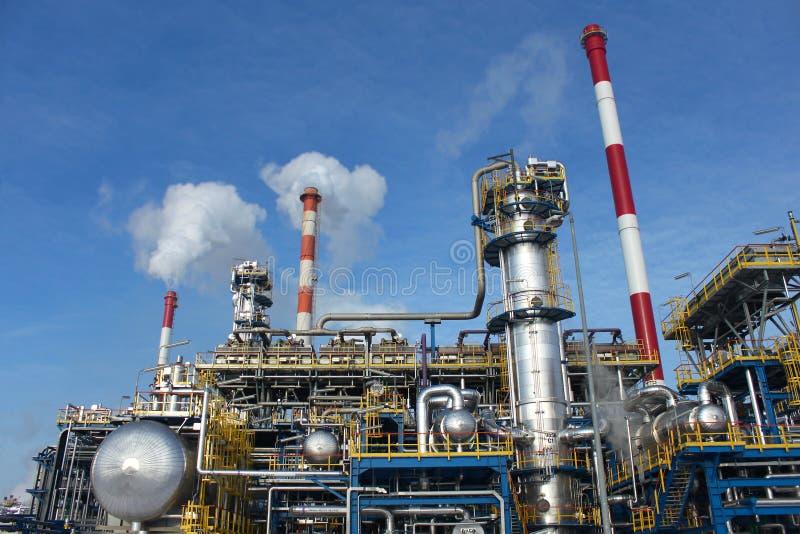Heavy industry factory stock photo