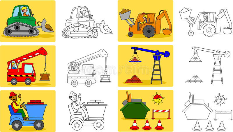 Heavy industry machineries stock photos