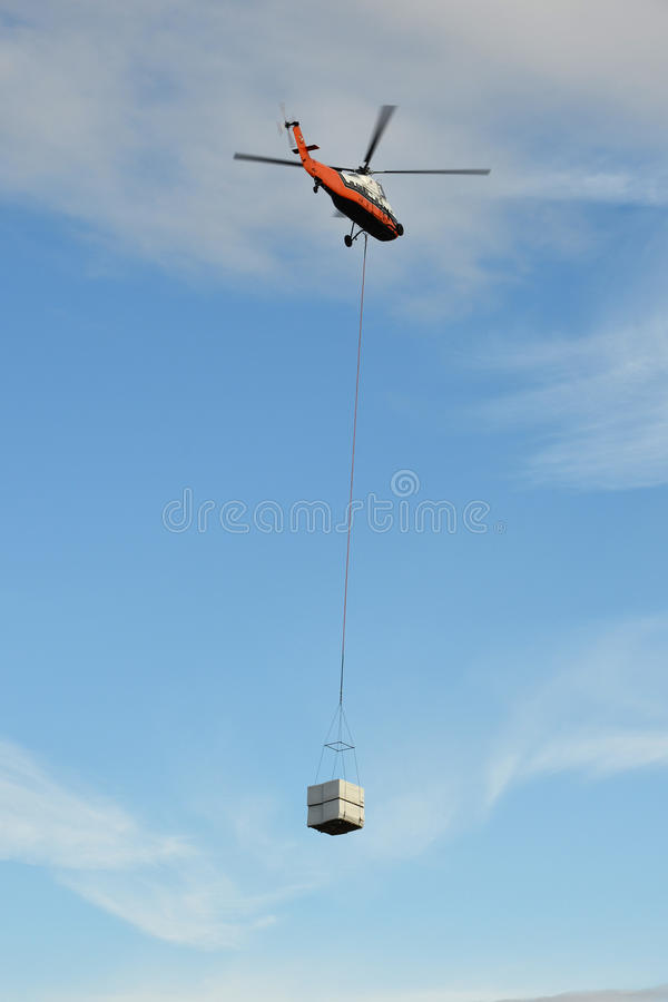 Download Heavy lift helicopter stock image. Image of rotary, outdoors - 27431913