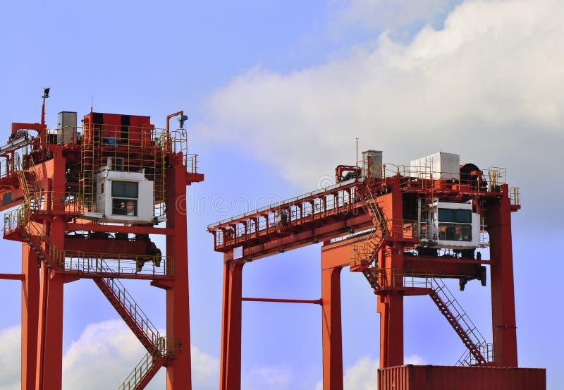 Heavy Load Cranes Stock Image