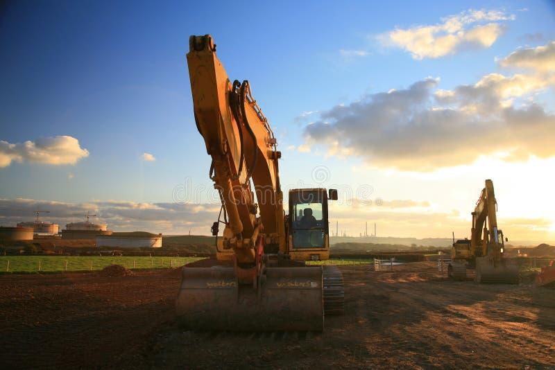 Heavy Machinery stock image
