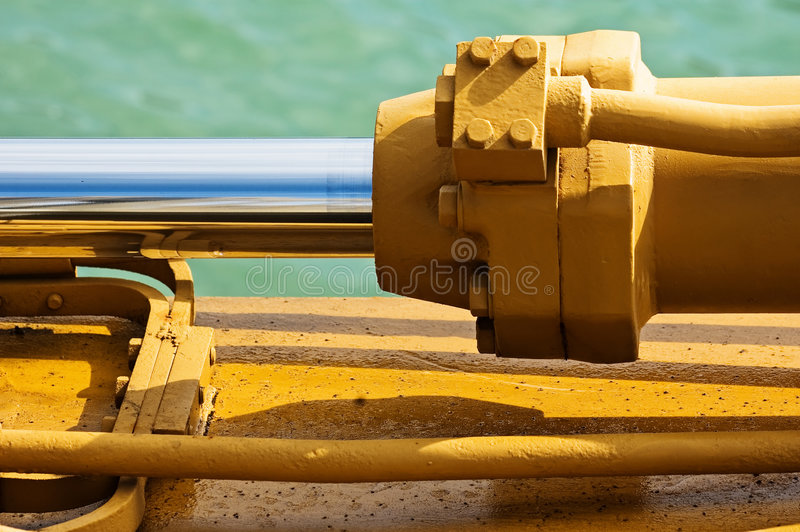 Heavy machinery stock photo