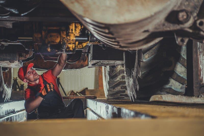 Heavy Machinery Technician royalty free stock photo