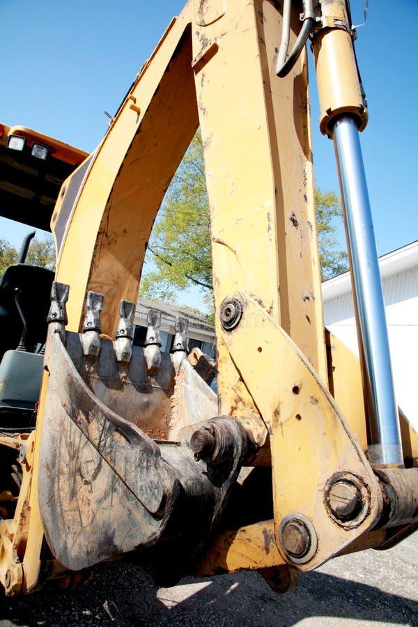 Download Heavy Machinery: Excavator Arm Stock Image - Image: 14148725