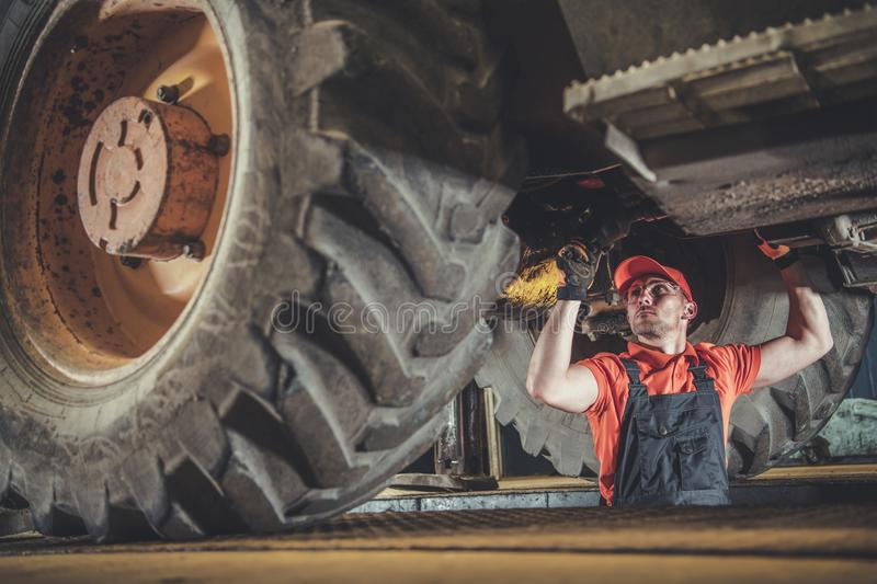 Heavy Machinery Mechanic stock images