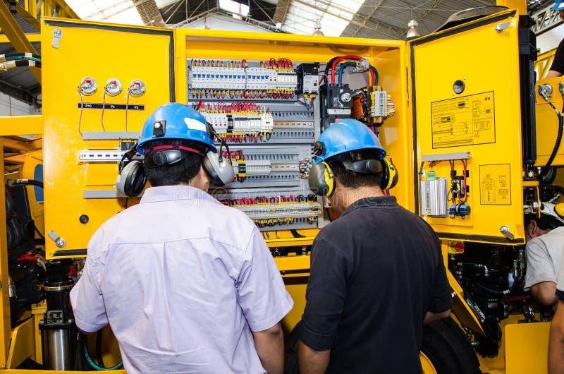 Heavy machinery mechanic royalty free stock photos