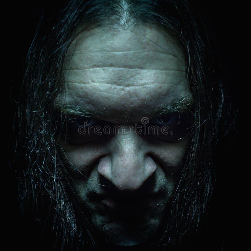 Heavy Metal Portrait stock image