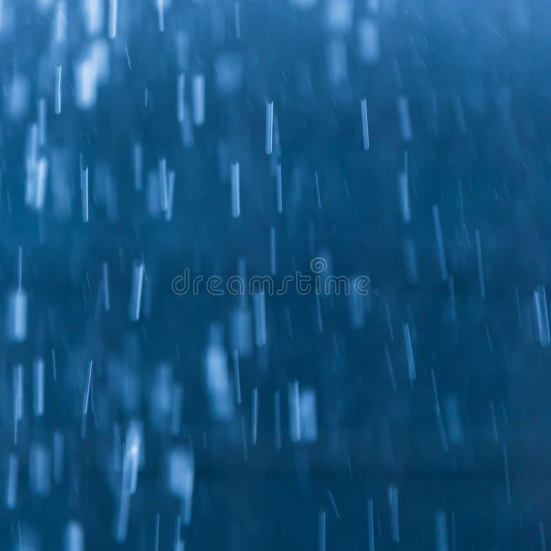 Heavy rain as background image royalty free stock image