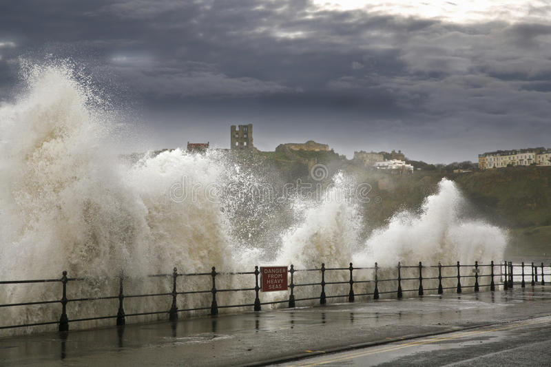 Download Heavy seas waves stock photo. Image of castle, front - 33527422