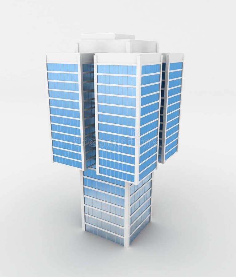 Heavy Skyscraper royalty free illustration