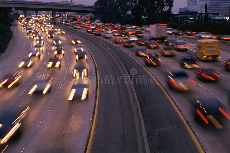 Download Heavy traffic editorial photography. Image of expressway - 23162212
