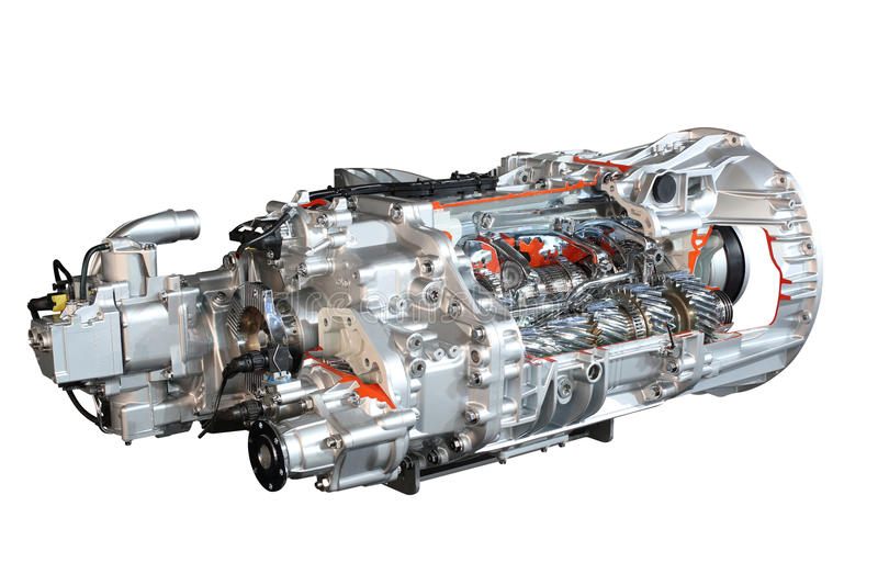 Download Heavy Truck Transmission Gears Stock Photo - Image: 27196570