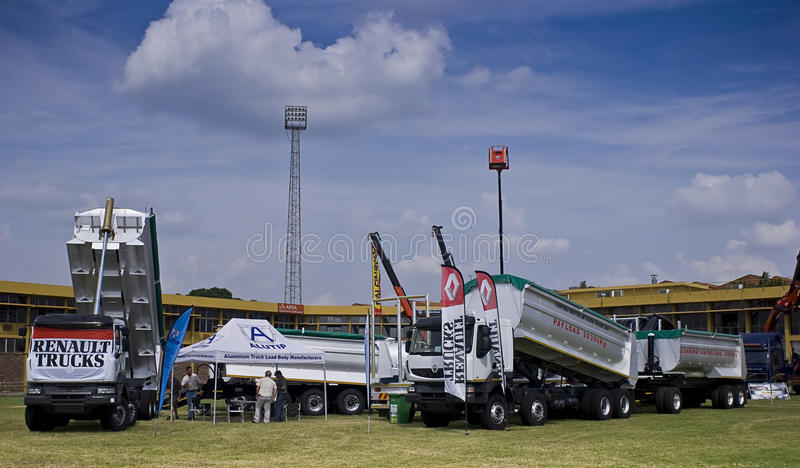 The Heavy Weight Expo - Renault Trucks royalty free stock image