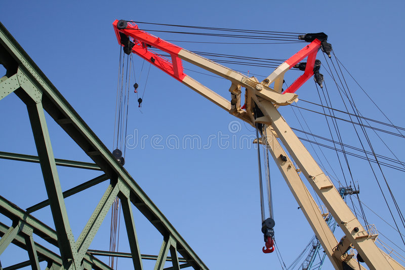 Download Heavy Weight Industry Crane V Stock Photo - Image: 1784364
