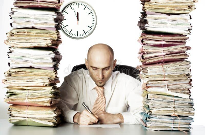 Heavy Workload stock photo