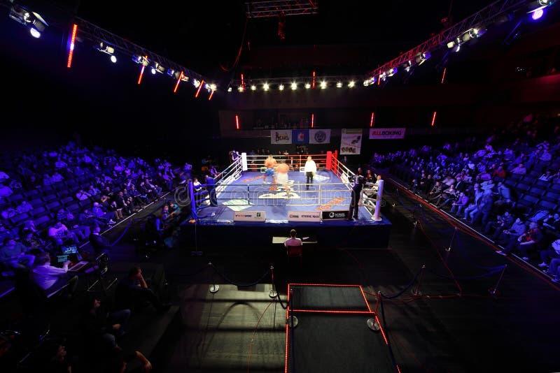 Heavyweight : l'Islam Ismailov contre Filip Khrgovich photo stock