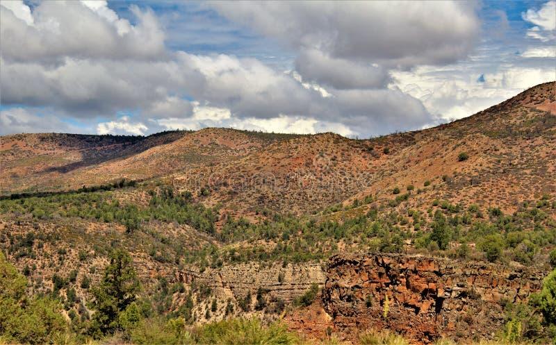 Heber Overgaard, le comté de Navajo, réserve forestière de Sitgreaves, Arizona, Etats-Unis photo libre de droits