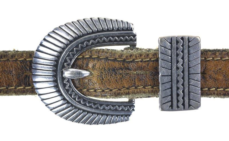 Hebilla del cinturón adornada imágenes de archivo libres de regalías