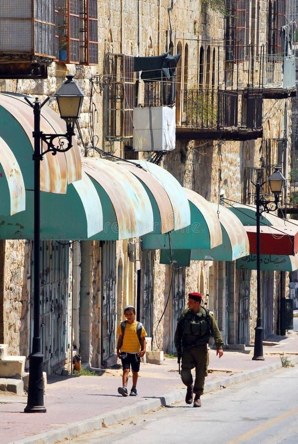 Hebrón - Israel foto de archivo