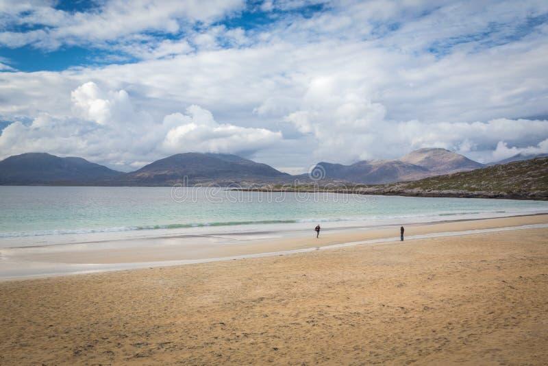 Hebridean Tropen Luskentire lizenzfreie stockfotos