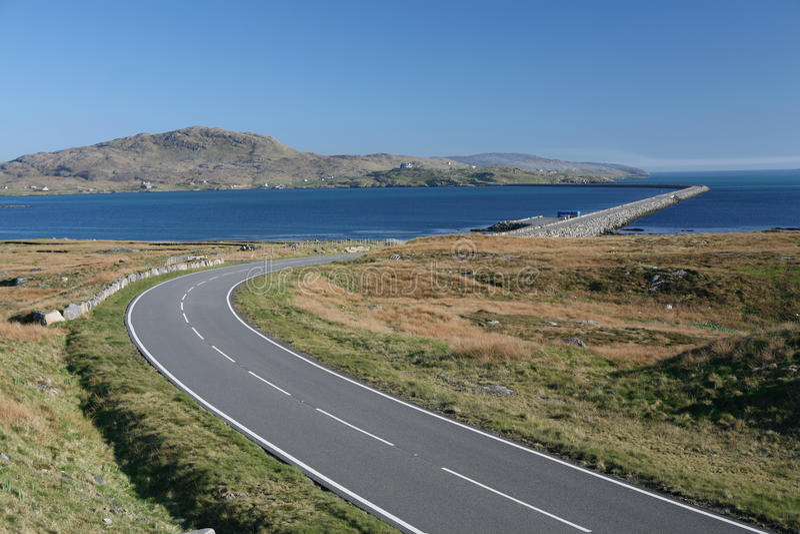 Hebrides Causeway Stock Image
