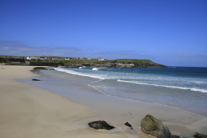 Hebrides strand fotografering för bildbyråer