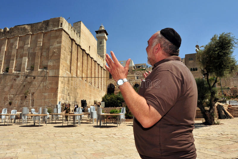 Hebron - Israel arkivbilder