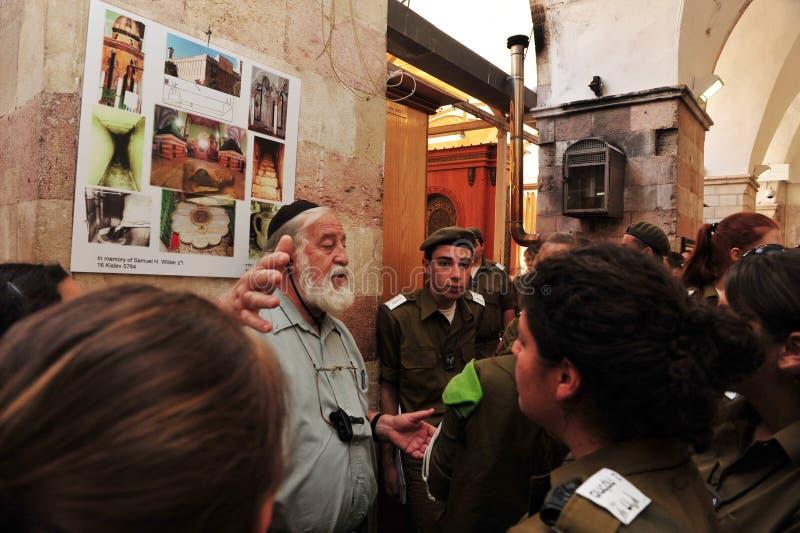 Hebron - Israel stock photography
