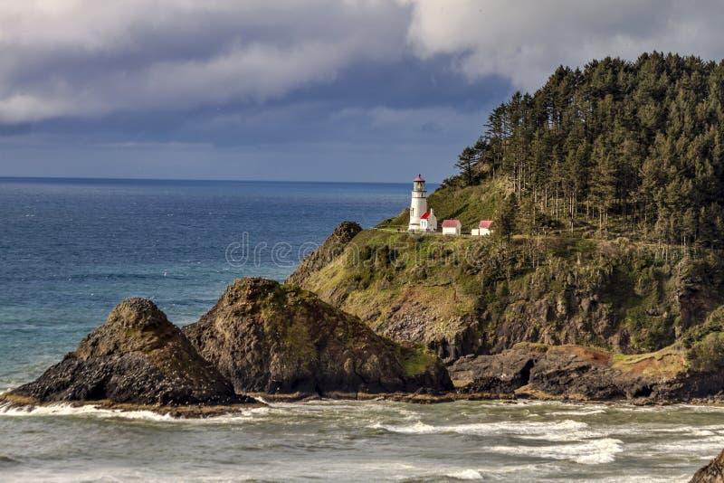 Heceta Head Historic Oregon Lighthouse royalty free stock photography