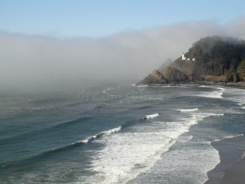 Heceta Head Lighthouse, Oregon royalty free stock photo