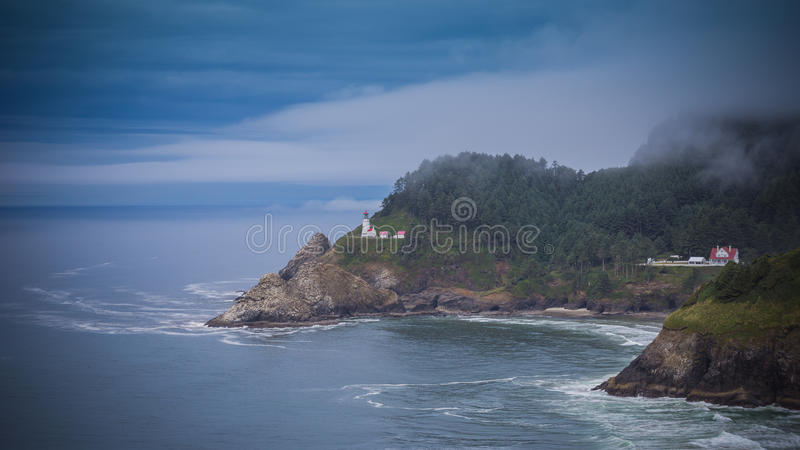 Heceta Head Lighthouse royalty free stock photos