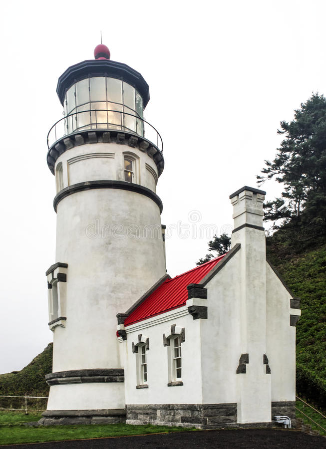 Heceta Head Lighthouse stock photo