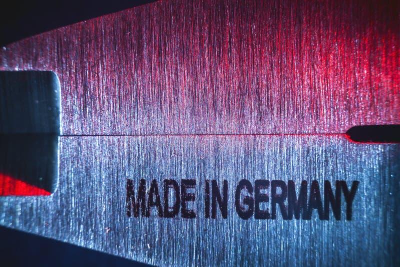 Hecho en Alemania fotos de archivo