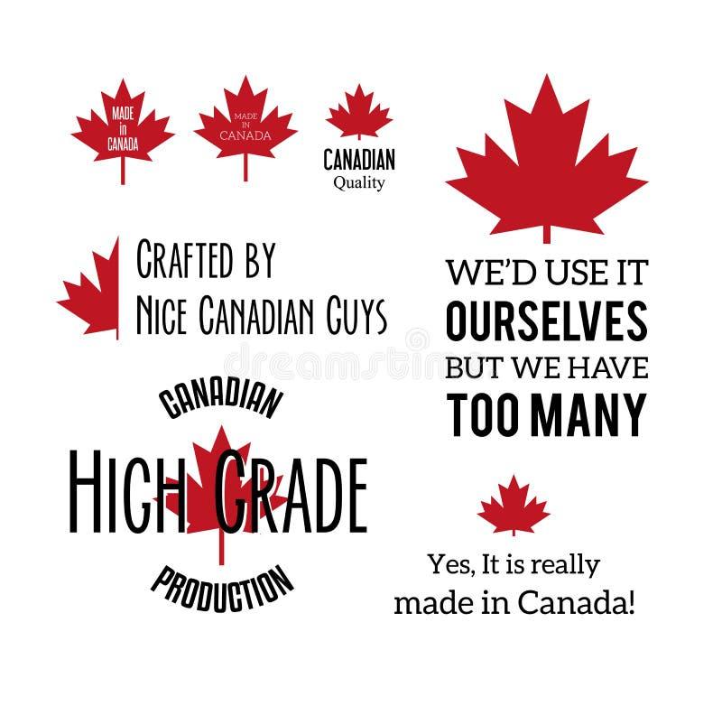 Hecho en Canadá libre illustration