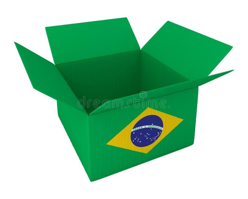 Hecho en el Brasil ilustración del vector