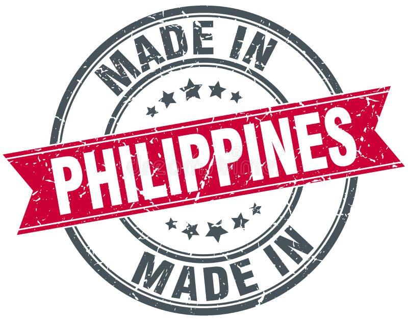 hecho en el sello de Filipinas libre illustration