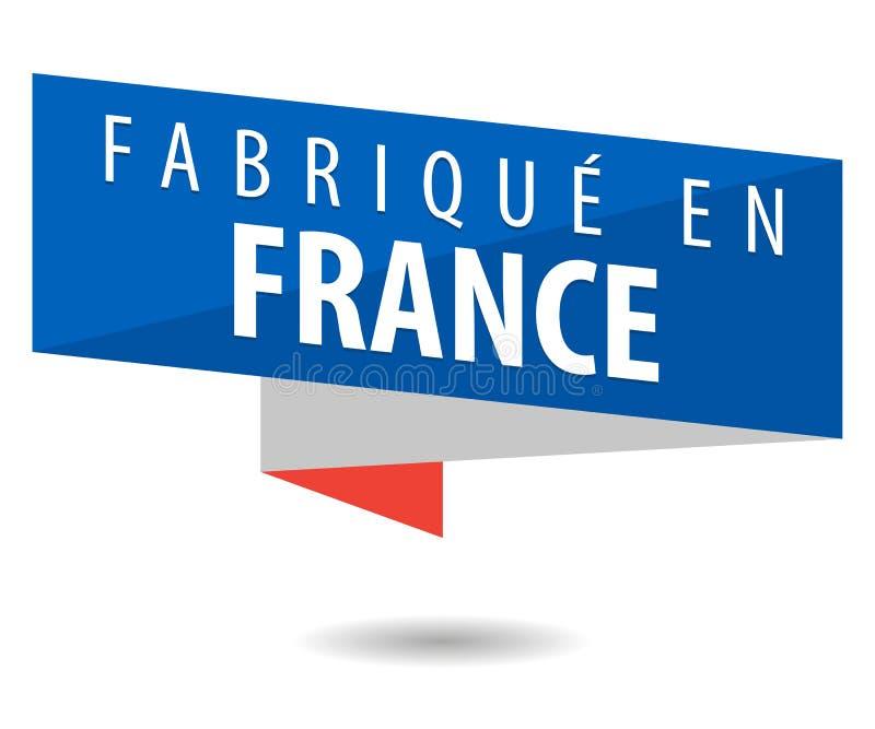 Hecho en Francia ilustración del vector