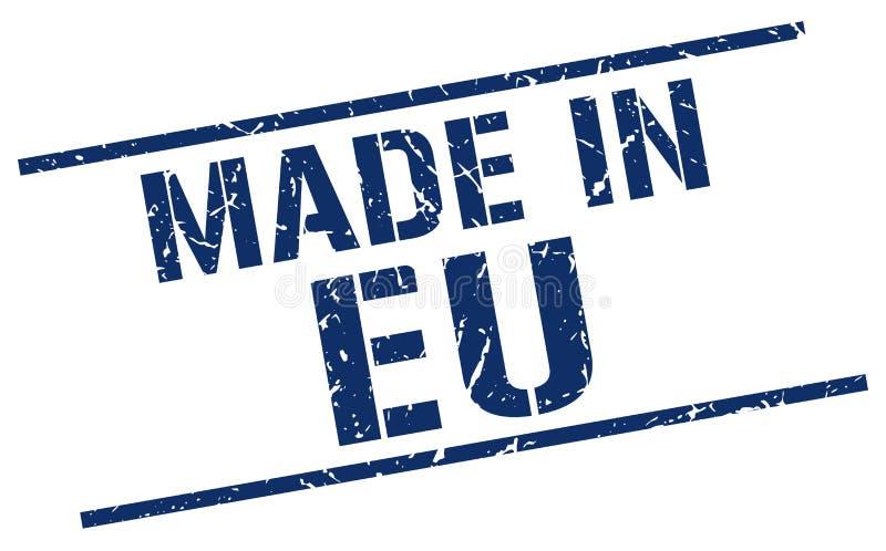 Hecho en sello del eu libre illustration