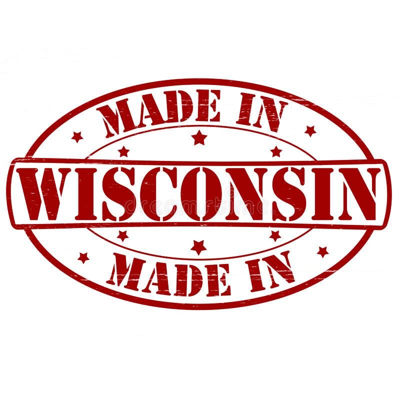 Hecho en Wisconsin libre illustration