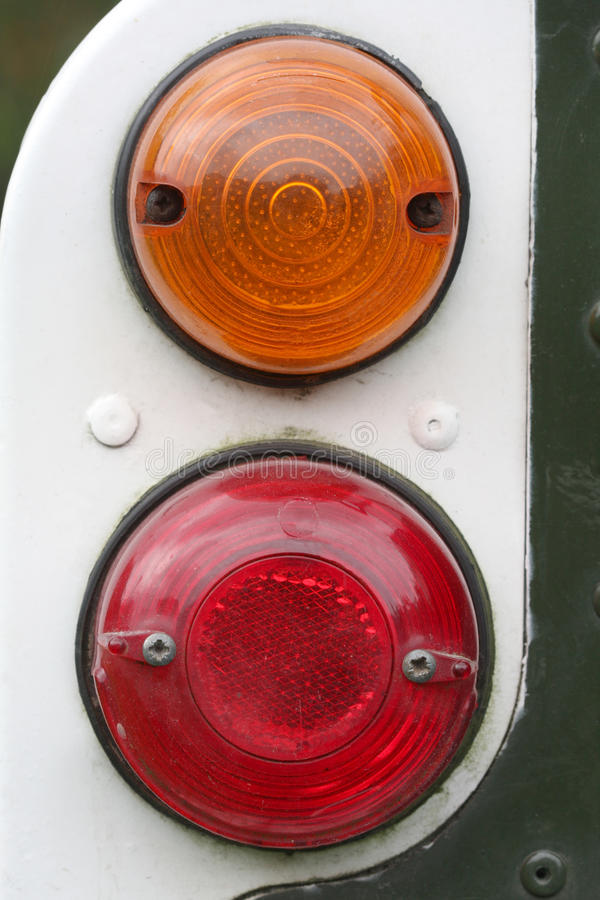 Heck-Lampe lizenzfreie stockfotos