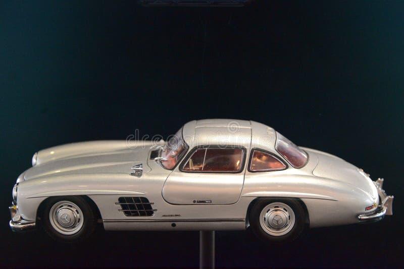 Heckflosse Benz της Mercedes στο μουσείο στοκ φωτογραφίες με δικαίωμα ελεύθερης χρήσης
