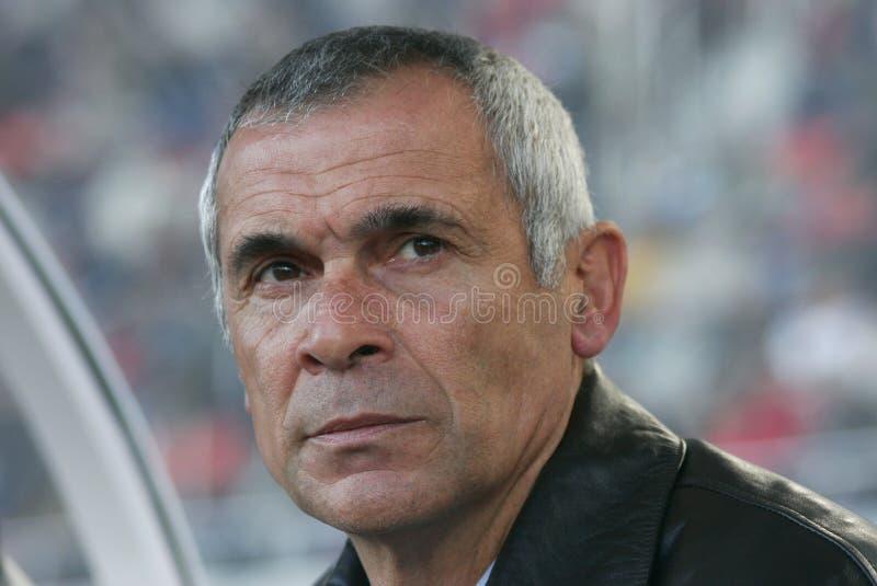 Hector Cuper Argentyna piłki nożnej trenera spojrzenie fotografia stock