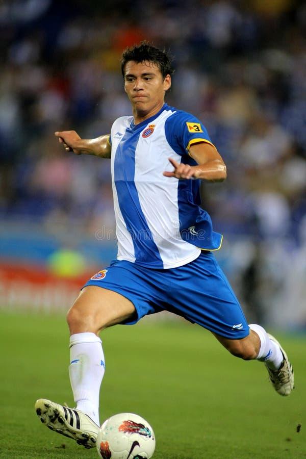 Hector Moreno de RCD Espanyol images libres de droits