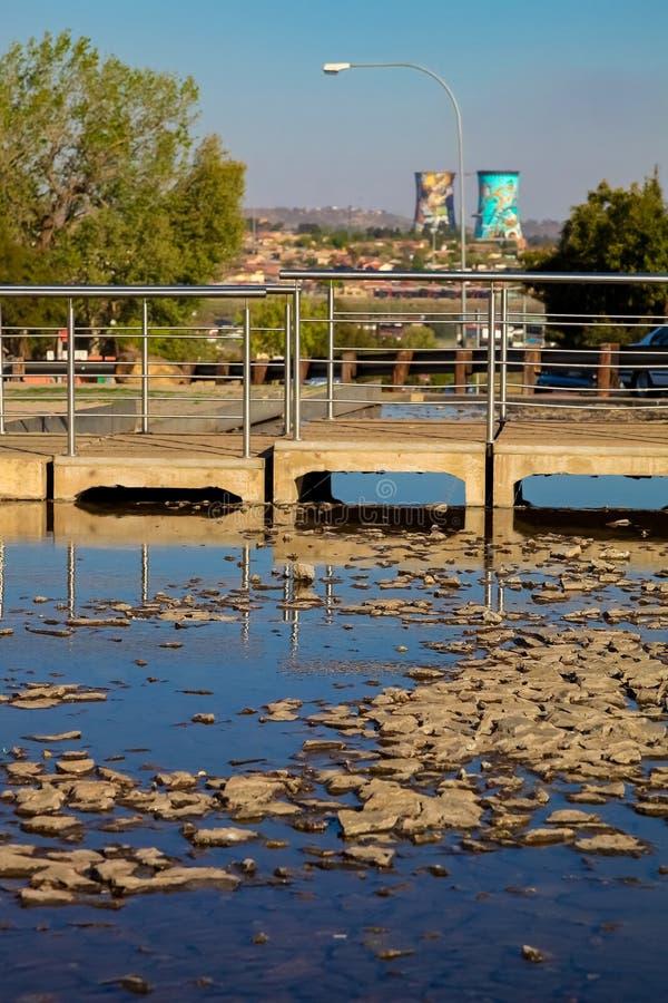 Hector Pieterson Memorial Museum exterior em Soweto Joanesburgo foto de stock