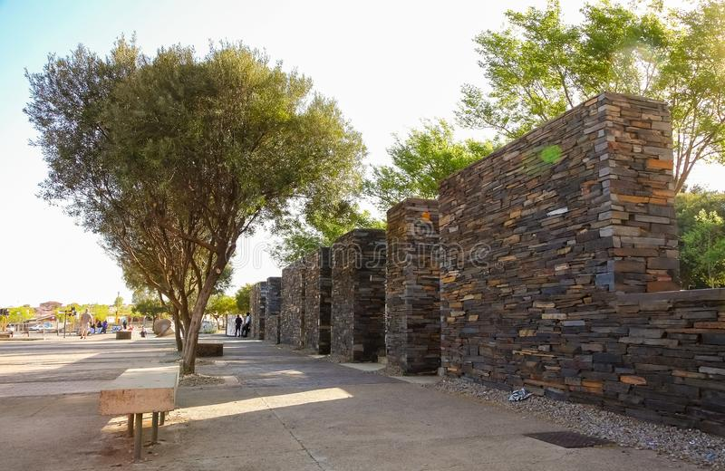 Hector Pieterson Memorial Museum exterior em Soweto Joanesburgo imagem de stock royalty free