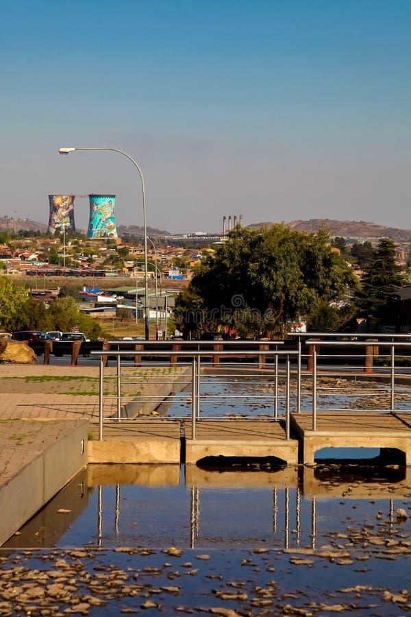 Hector Pieterson Memorial Museum exterior em Soweto Joanesburgo imagens de stock royalty free