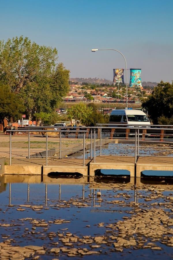 Hector Pieterson Memorial Museum exterior em Soweto Joanesburgo foto de stock royalty free